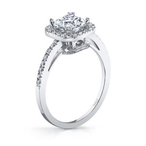 VANNA K 18KW ENGAGEMENT RING