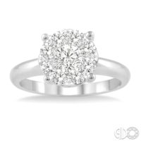 solitaire lovebright diamond ring